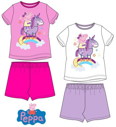 Peppa Pig Shorty-Pyjama Set